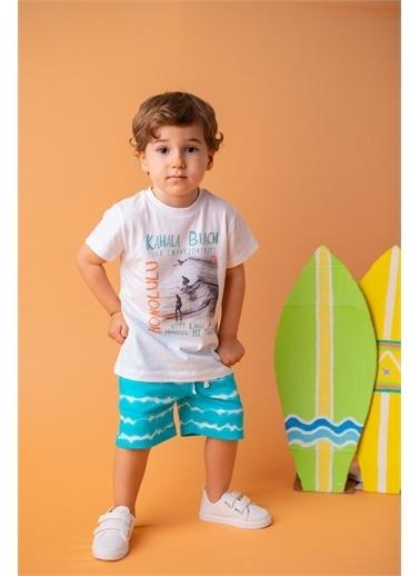 Mininio Mint Kahala Beach T-Shirt ve şort Takım (9ay-4yaş) Mint Kahala Beach T-Shirt ve şort Takım (9ay-4yaş) Renkli